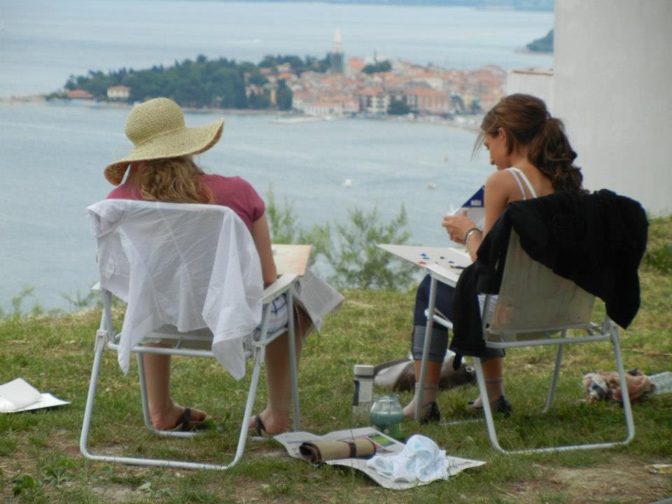 Tečaj slikanja: Slikanje v naravi, Belvedere