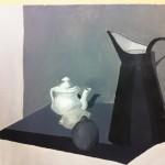 Tečaj slikanja: Violeta, tonsko slikanje