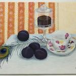 Tečaj slikanja: Irena, olje na platnu