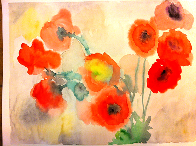 Tečaj slikanja: Dora, akvarel